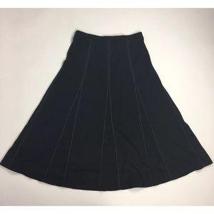 Emma James Liz Claiborne Skirt Stretchy Flowy Med